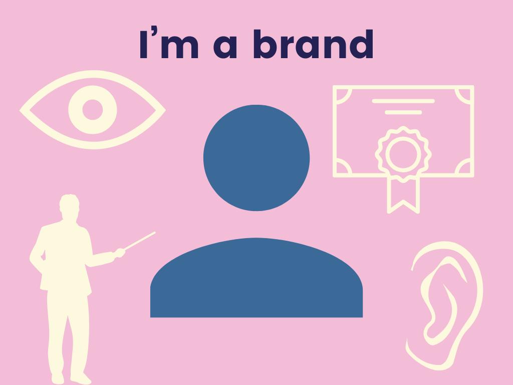 Branding is like raising a person.